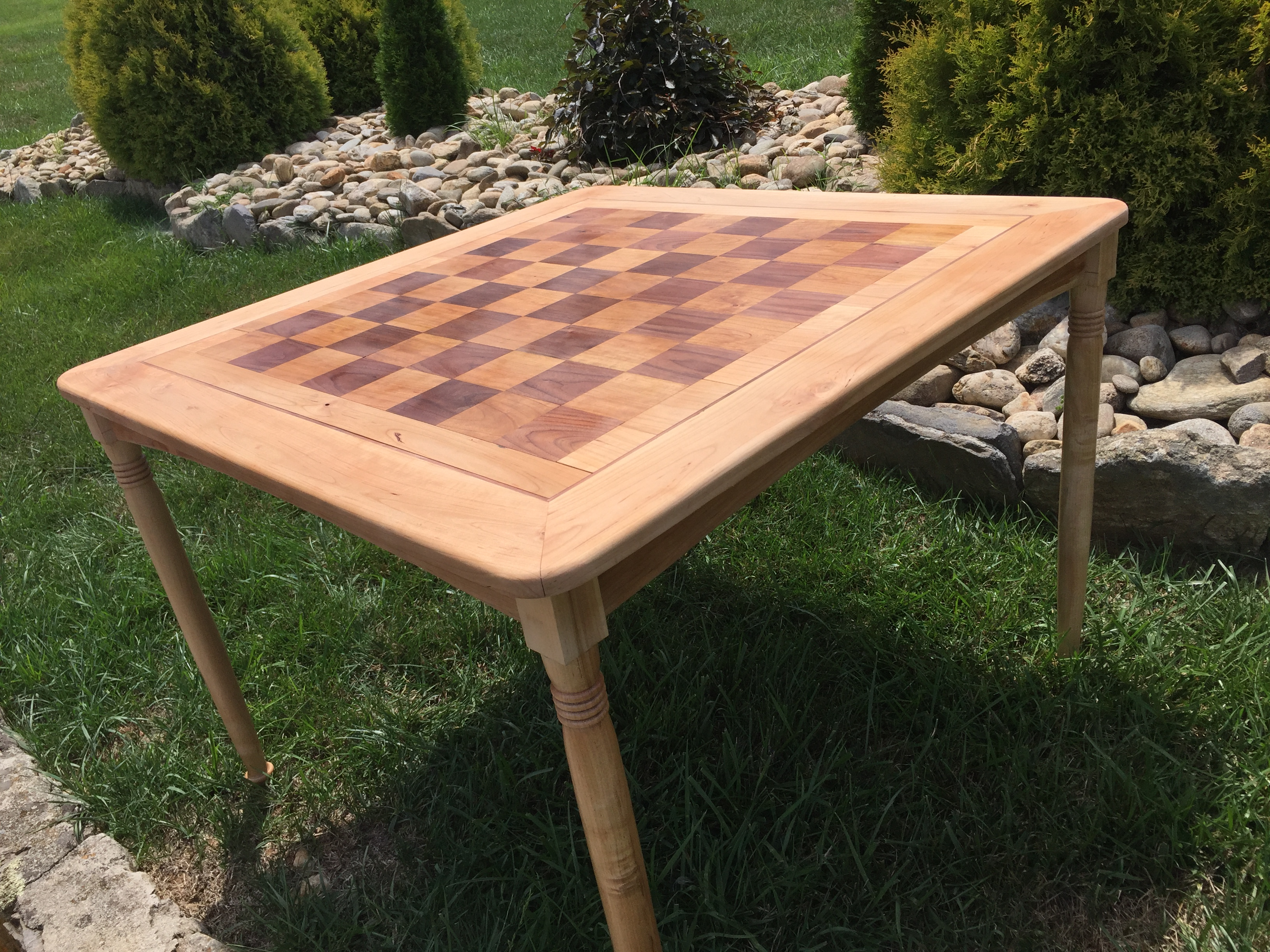 Custom furniture bring nature to your home and yard for Custom wood furniture