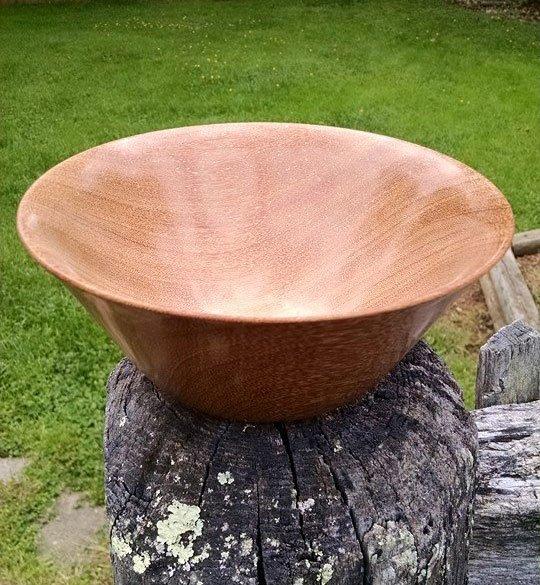 Cumaru Wooden Bowl